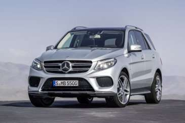 Mercedes-Benz GLE500e Plug-In Hybrid